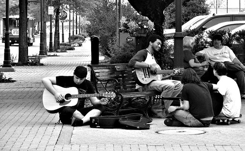 Musicians, Skateboarders and Quilters