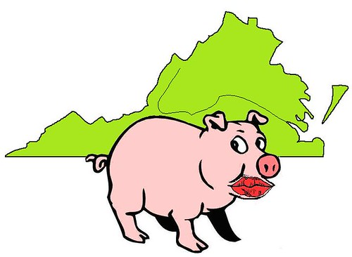 Pigs and Lipstick in Virginia