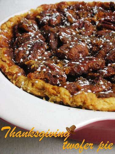 thanksgiving twofer pie