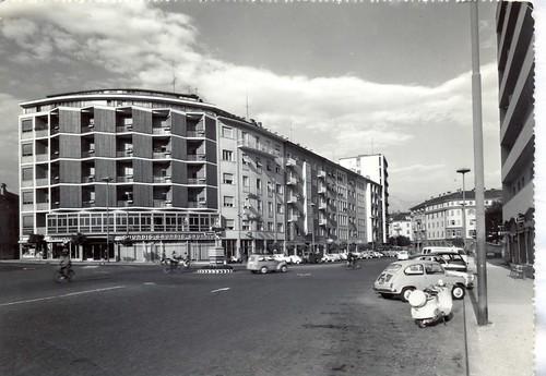 bolzano - via verdi - 1961