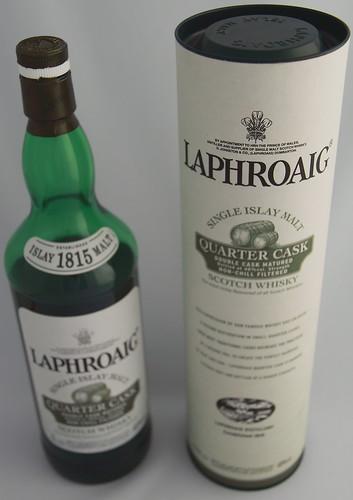 Laphroaig Quarter Cask Single Malt Scotch