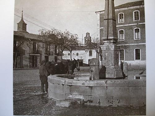La fuente de los cuatro caños en su emplazamiento original