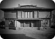 Casa Sommerfeld, Berl�n, 1920-21. Esta fue el 1° gran proyecto en común de la Bauhaus y la creación de una obra unitaria.