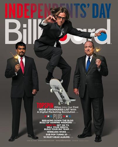 Billboard Cover June 28th, 2008