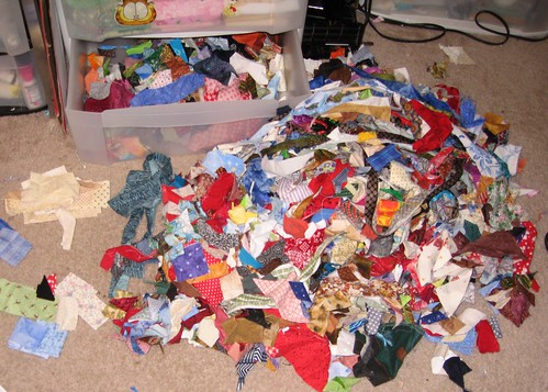 Pile of Fabric