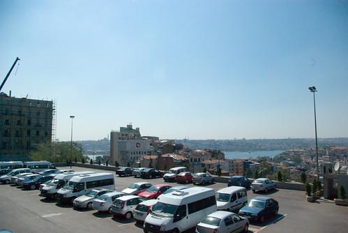 Golden Horn view from Tepebasi, Beyoglu Istanbul, pentax k10d