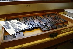 Wood Type Letters