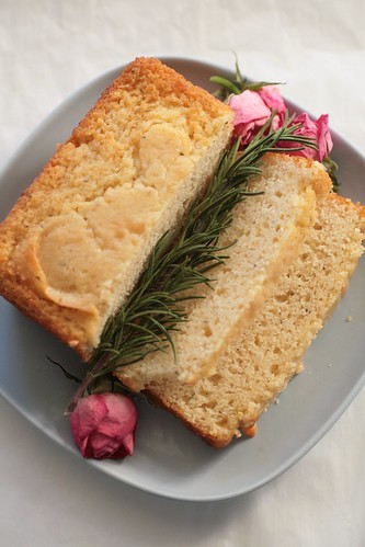 Rosemary Lemon Tea Bread