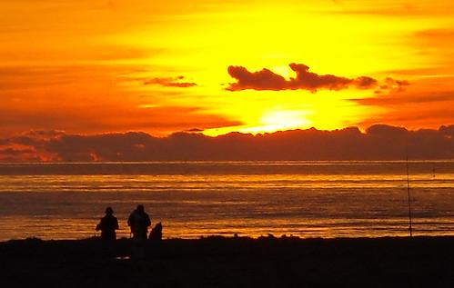 tramonto aranciato