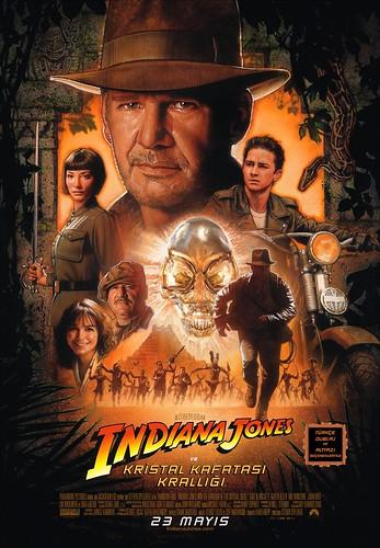 Indiana Jones ve Kristal Kafatası Krallığı Afiş