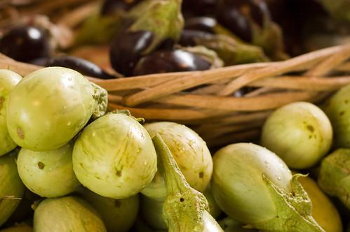 eggplants (by bookgrl)