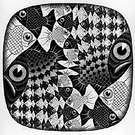 M. C. Escher. Circle Limit II. 1959.