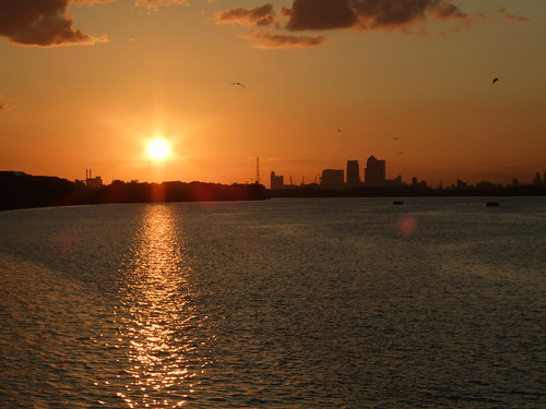 Sunset from Thamesmead