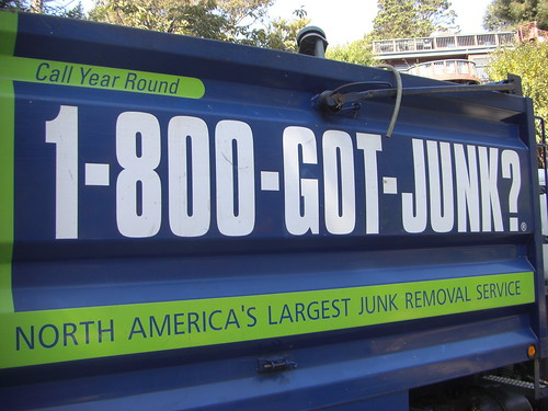 1-800-gotjunk? good for environment