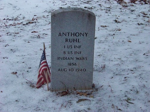 Anthony Ruhl tombstone