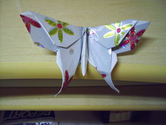 Borboleta origami by PCPriscila