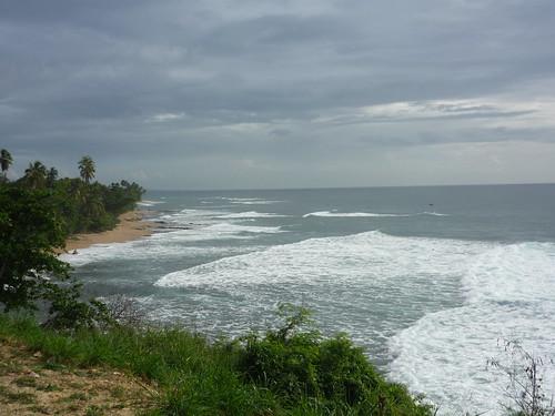 Rincón coast towards the lighthouse