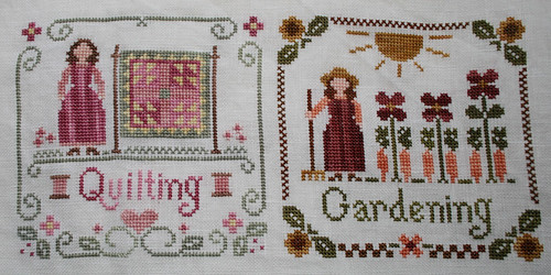Quilting and Gardening