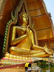 Buddha at Wat Tham Seua
