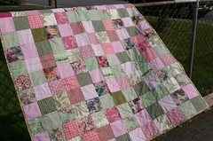 Quilt for my mom - in the wind