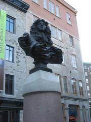 Louis XIV bust, Place royale, Québec city