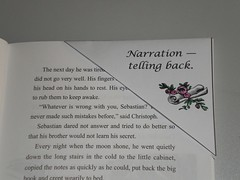 narration corner bookmark