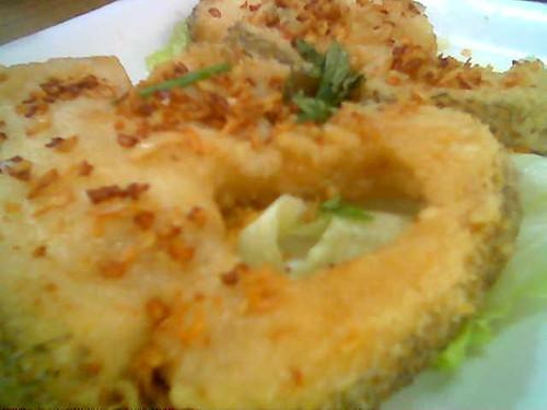 Fried snowfish