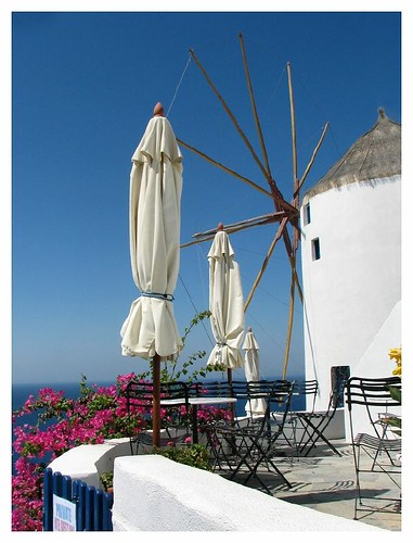 Oia windmill by you.