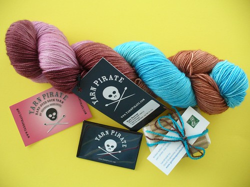 Yarn Pirate Sock Club Package 1
