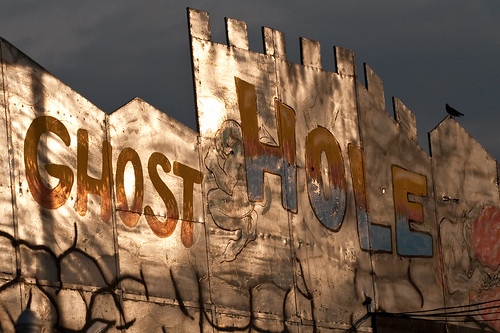 Ghost Hole Dark Ride on 12th St in Coney Island. Photo © Barry Yanowitz via flickr