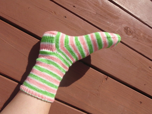 Watermelon Sock
