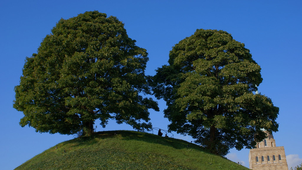 Oxford Castle mound