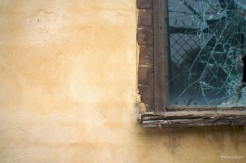 Cracked window