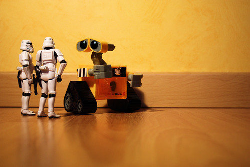 Interrogando a Wall E