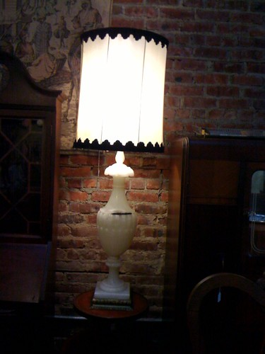 Ginormous marble lamp