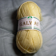 Plymouth Yarn Galway yellow