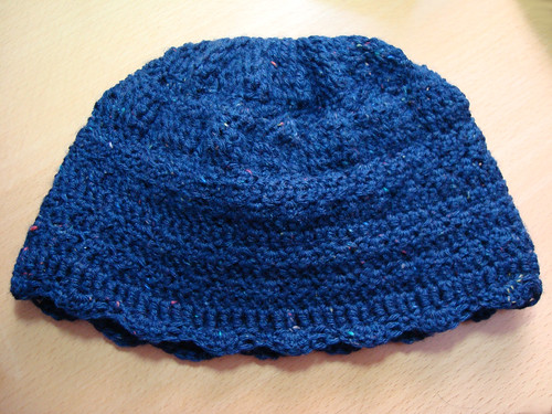 First attempt at crocheting a hat