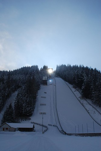 Kulm - sky flying jump