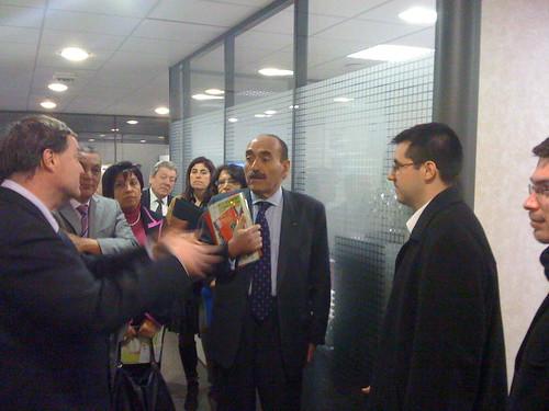 PliciWeb Solutions rencontre le maire de Tunis M. Abbes MOHSEN par plici