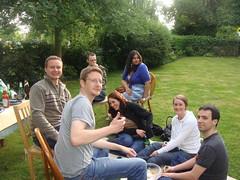 James, Lee, Ryan, Jo, Preeti, Claire & John