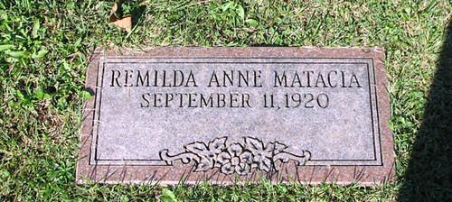 Matacia, Remilda Anne
