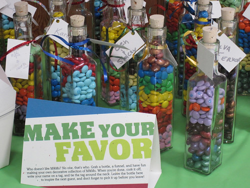 05 - Favor bottles and instructions