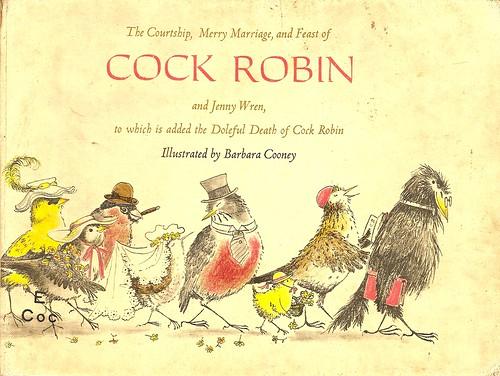 Cock Robin Book Cover (1965)