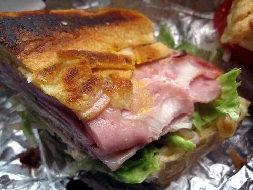 the crazy cuban - cuban sandwhich food porn by foodiebuddha.