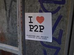 P2P sticker