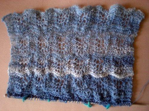 hand-spun shawl