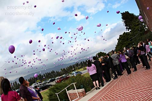 Maddie Spohr's Balloon Release. by mooshinindy.