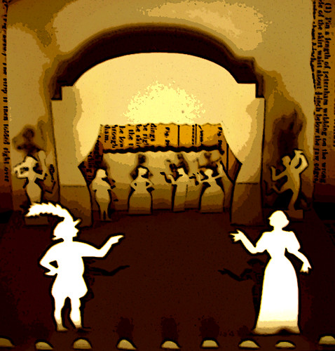 Illustration Friday: Theatre