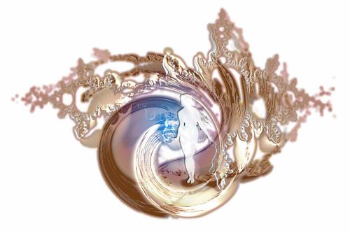 windswept digital collage (c) 2006, Lynne Medsker
