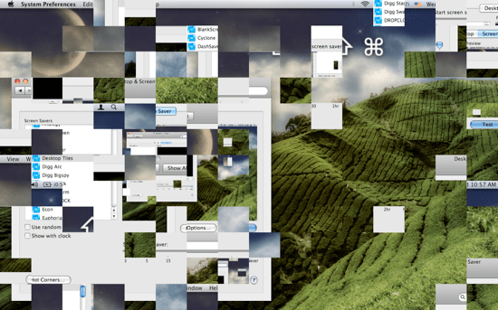 Desktop Tiles Screensaver